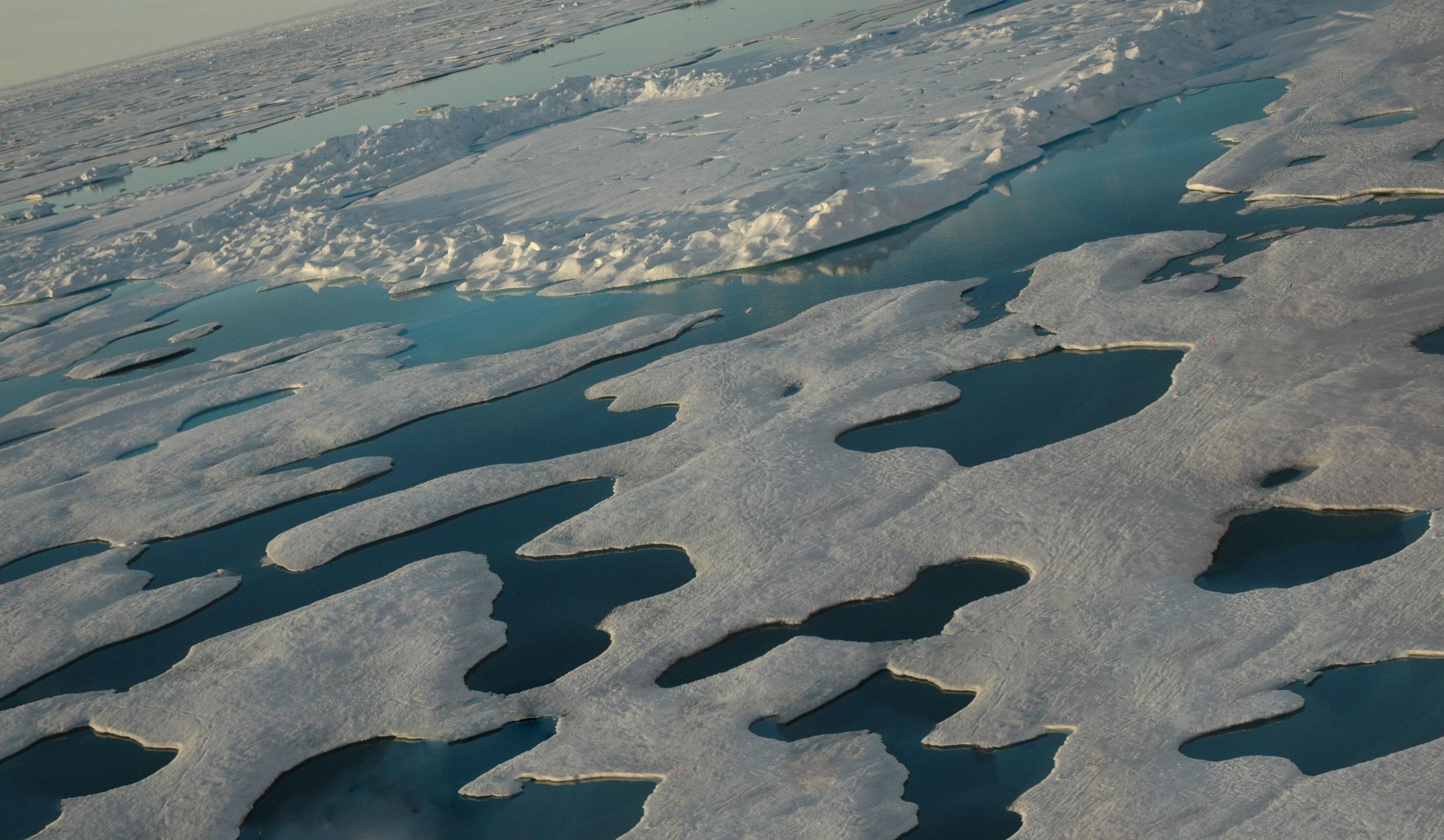 Льды в Северном ледовитом океане