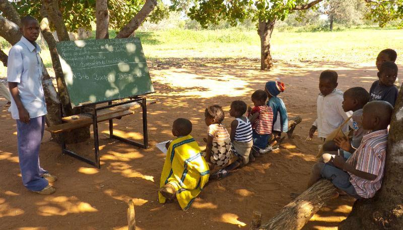 Школа в Африке - проблема образования