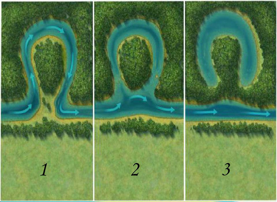Как образуется озеро старица